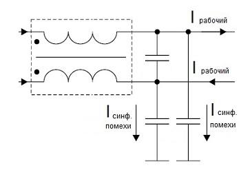 Схема фильтра VOLTER-2100 ПТс